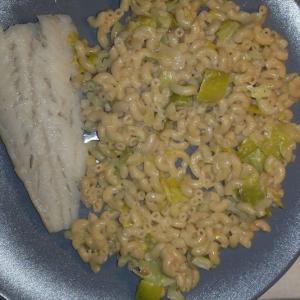 Cookéo Recette - Coquillettes au blé complet filet de poisson