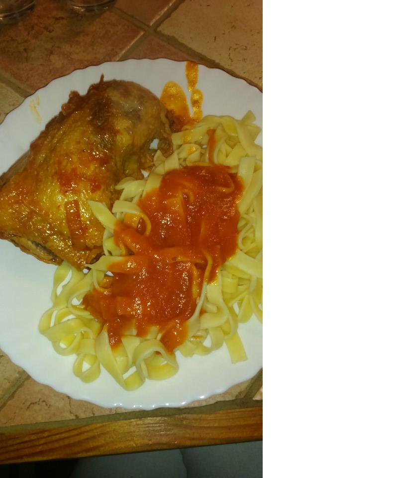 Cuisses de poulet à l\u0027indienne