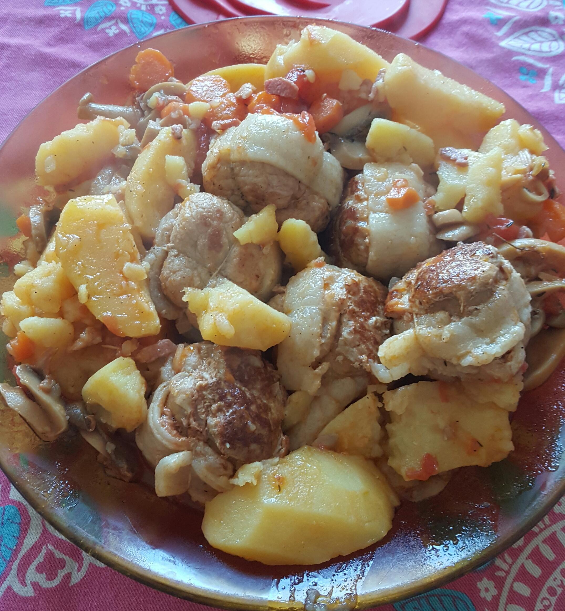 Paupiettes de porc la proven ale recettes cookeo - Recette paupiette porc ...