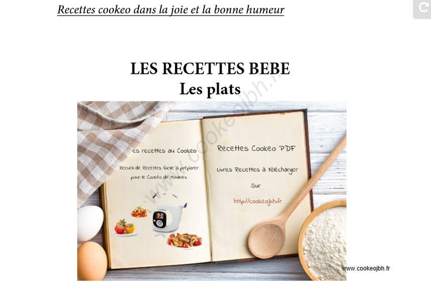 livres de recettes cookeo in dits pdf recettes cookeo. Black Bedroom Furniture Sets. Home Design Ideas