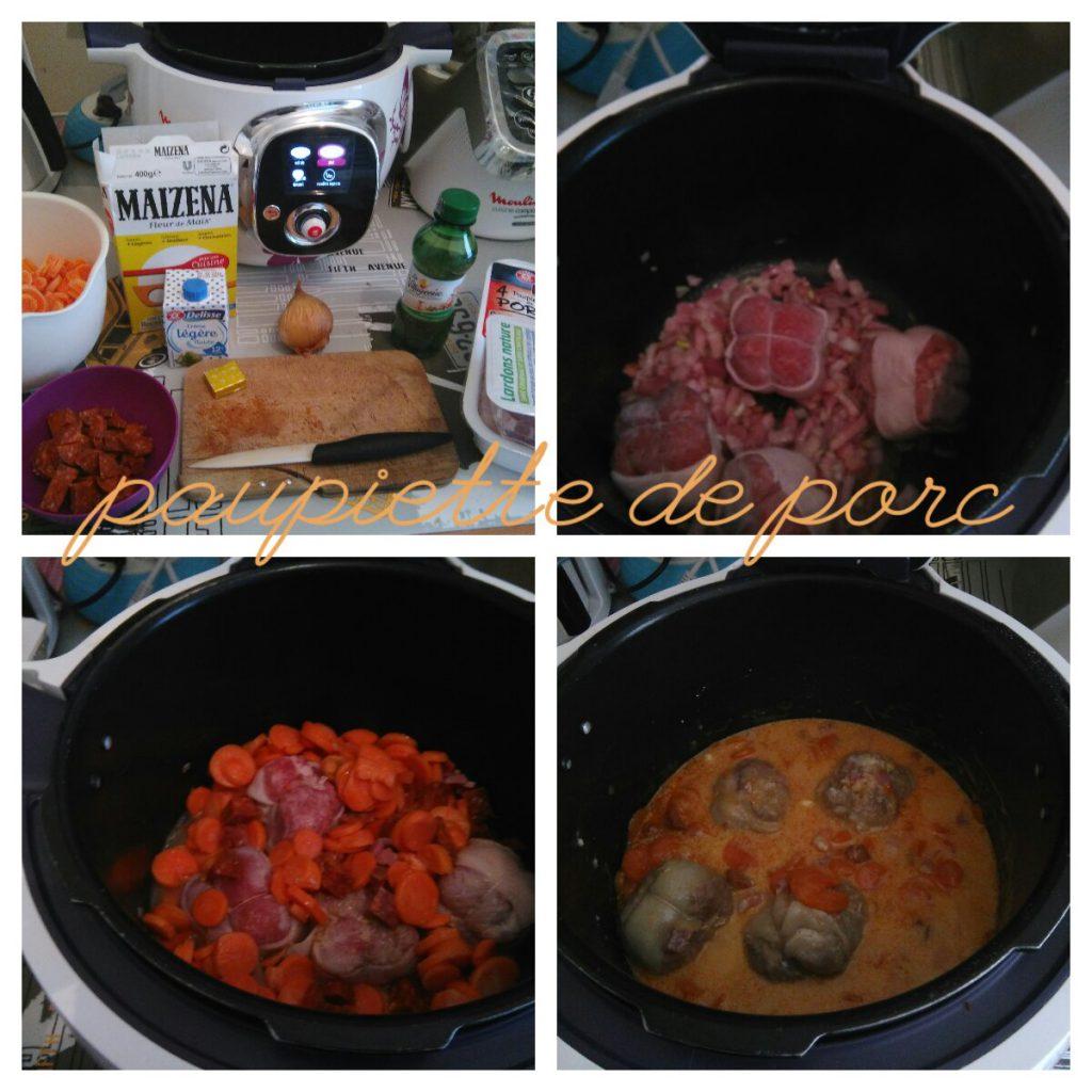 Paupiette de porc chorizo recettes cookeo - Recette paupiette porc ...