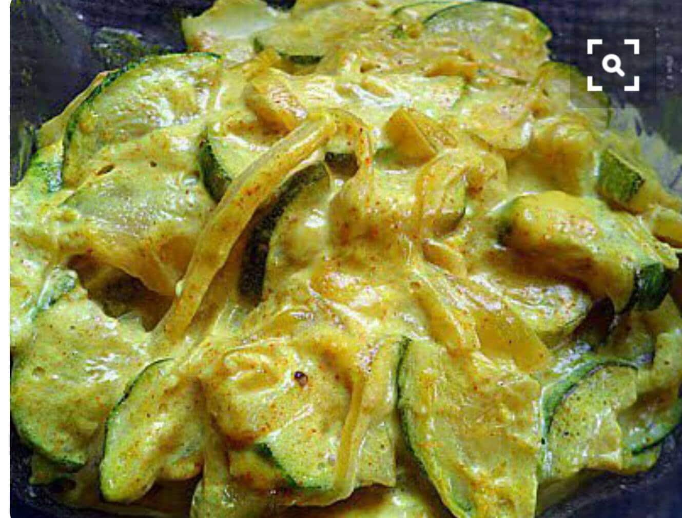 Courgettes curry coco recettes cookeo - Recette de cuisine avec des courgettes ...