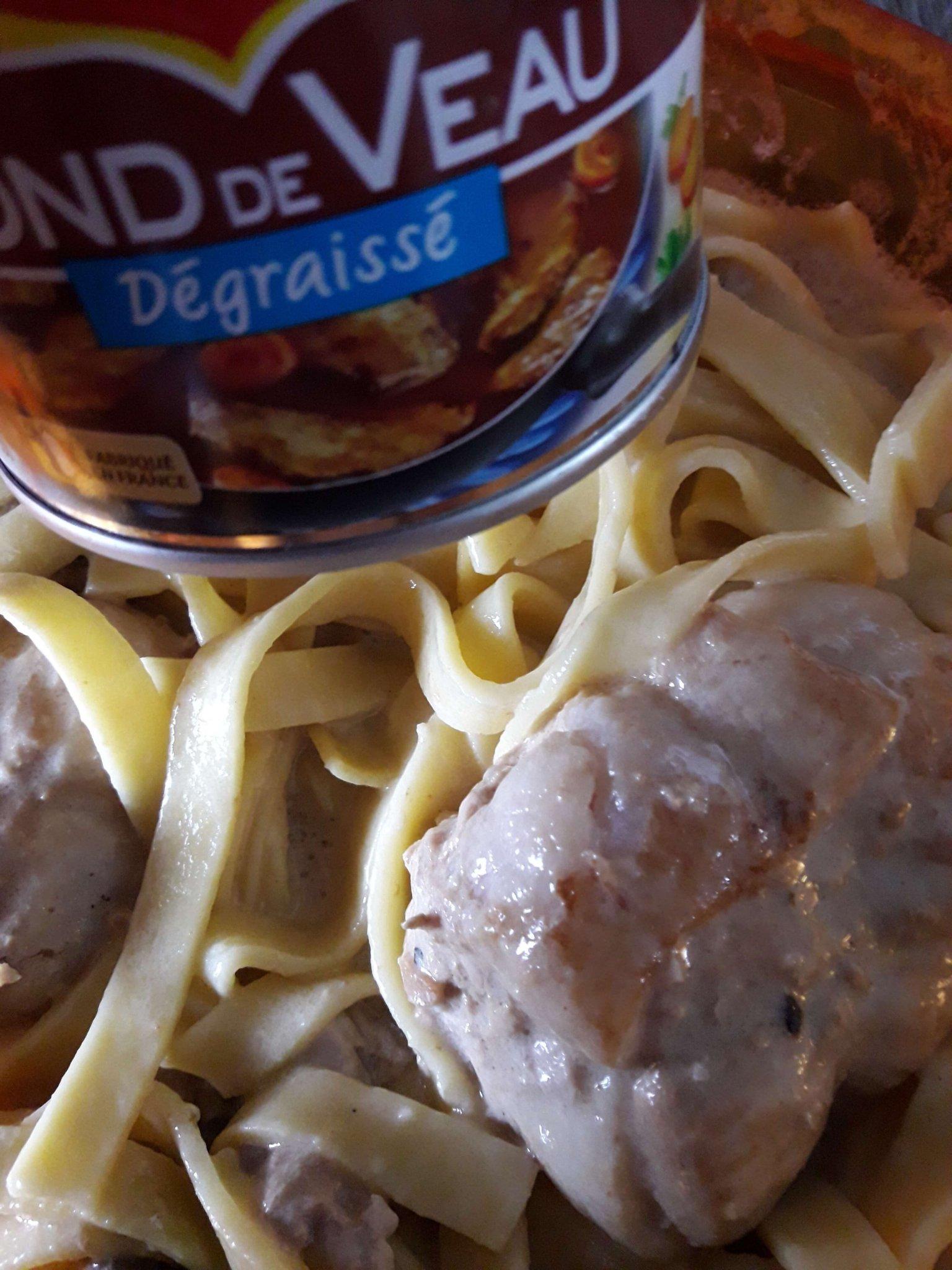 Paupiettes de porc tagliatelles recettes cookeo - Recette paupiette porc ...