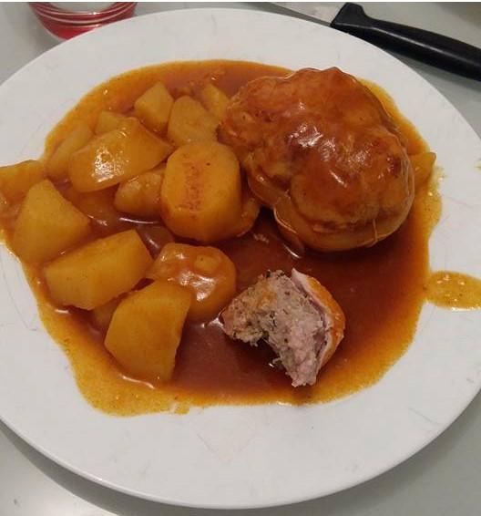 paupiettes de poulet aux pommes de terre   recettes cookeo
