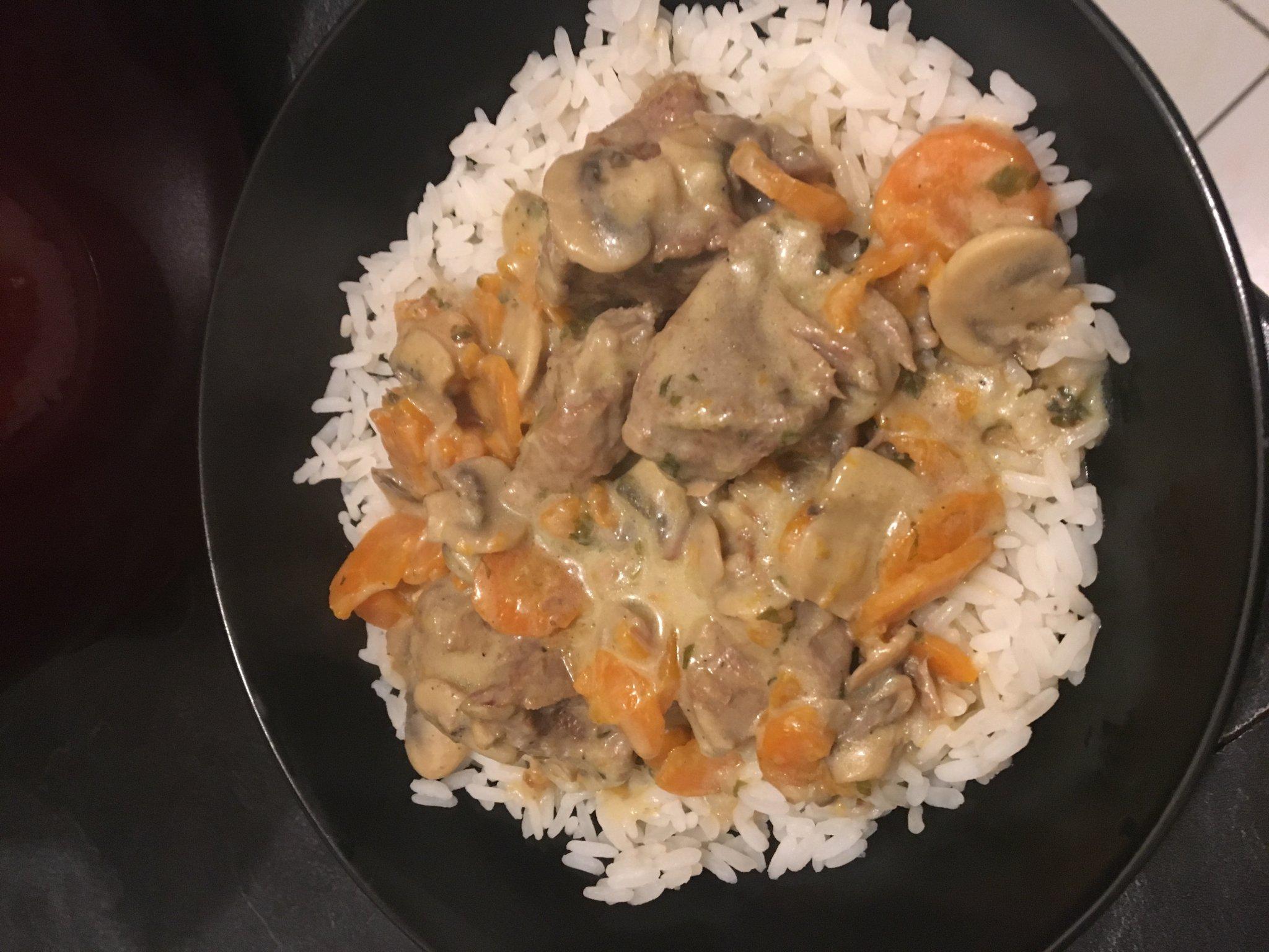 Blanquette de veau recettes cookeo - Recette de cuisine blanquette de veau ...
